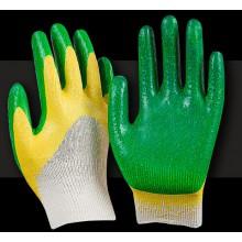 Перчатки х/б с латексным обливом