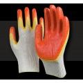 Перчатки с двойным обливом Стандарт красные