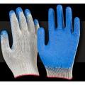 Перчатки с одинарным обливом синие