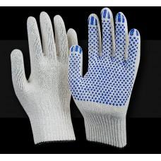 Рабочие перчатки ХБ 10 класс 5 нитей Люкс Точка