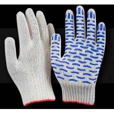 Рабочие перчатки ХБ 10 класс 5 нитей Люкс Волна