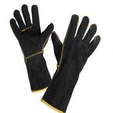 Перчатки краги черные