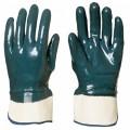 Перчатки с нитриловым покрытием зеленые